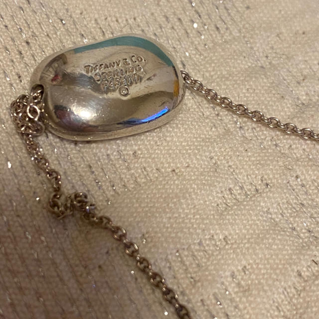 Tiffany & Co.(ティファニー)のTiffany ティファニー ビーンズ ネックレス シルバー レディースのアクセサリー(ネックレス)の商品写真