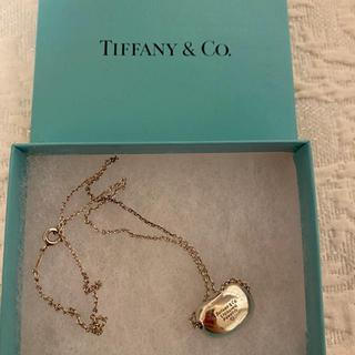 Tiffany & Co. - Tiffany ティファニー ビーンズ ネックレス シルバー