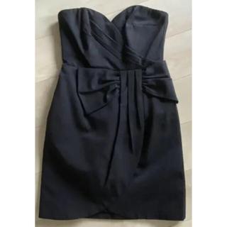 エイチアンドエム(H&M)のショッキングピンク色   ◉ H&M  パーティードレス  新品未使用(ミディアムドレス)