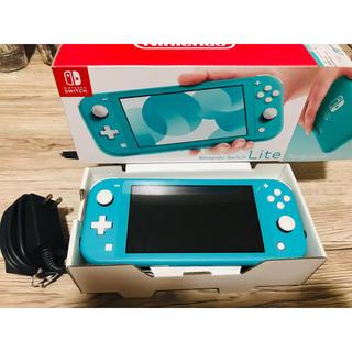 Nintendo Switch - ターコイズ スイッチ ライト 本体 箱付き 超美品 Switch Lite