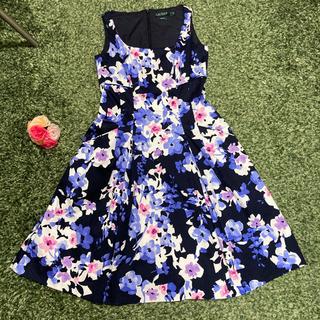ラルフローレン(Ralph Lauren)のラルフローレン ワンピース M 華奢見えドレス(ひざ丈ワンピース)