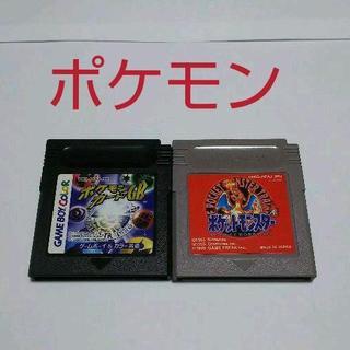ゲームボーイ - ≪GB≫ポケットモンスター赤&ポケモンカードGB