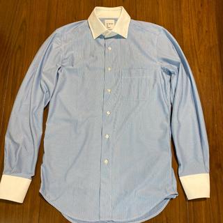 スーツカンパニー(THE SUIT COMPANY)の2枚 <ノンアイロンジャージー素材>クレリック&ワイドカラードレスシャツ(シャツ)
