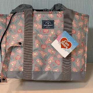 ケアベア(CareBears)の新品未使用☆*°ケアベア  レジカゴバッグ 保冷バッグ 買い物バッグ エコバッグ(エコバッグ)