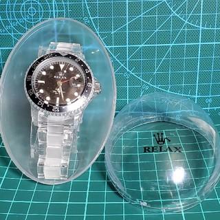 RELAX 腕時計王冠ロゴ