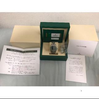 ロレックス(ROLEX)の【新品未使用品】116610lv グリーンサブ 緑サブ (腕時計(アナログ))