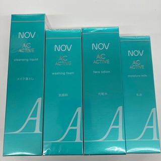 NOV - ノブ ACアクティブシリーズ4点+サンプル20セット 新品