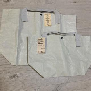 MUJI (無印良品) - ポリエチレンシート トートバッグ 無印良品