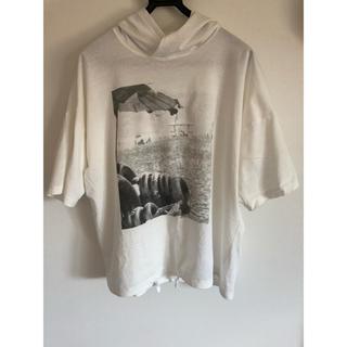 コムサメン(COMME CA MEN)のビッグTシャツ パーカー 夏秋 コムサメン ベータ (パーカー)