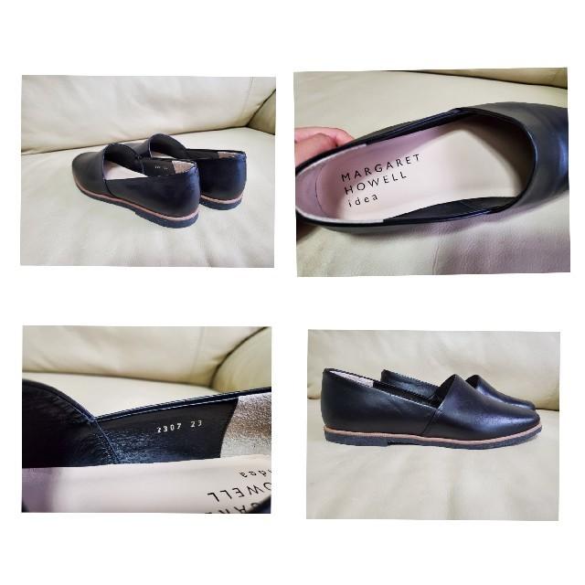 MARGARET HOWELL(マーガレットハウエル)のマーガレットハウエルideaのスリッポンシューズ レディースの靴/シューズ(ローファー/革靴)の商品写真