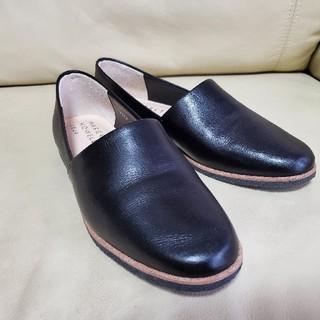 マーガレットハウエル(MARGARET HOWELL)のマーガレットハウエルideaのスリッポンシューズ(ローファー/革靴)
