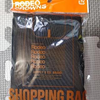 RODEO CROWNS - 新品未使用 ロデオクラウンズエコバッグ(ブラック)