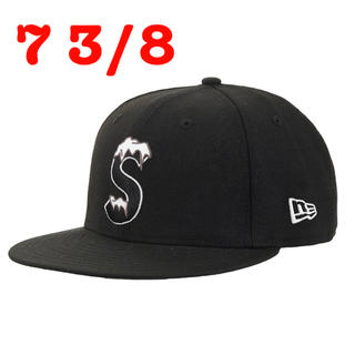 Supreme - Supreme new era s logo cap ニューエラ キャップ 黒
