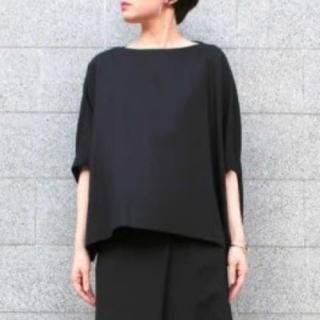 エンフォルド(ENFOLD)の新品タグ付 サマーコットン2ワイドTシャツ(Tシャツ(半袖/袖なし))