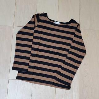 ブランシェス(Branshes)のブランシェス☆ボーダー長袖Tシャツ 130cm(Tシャツ/カットソー)