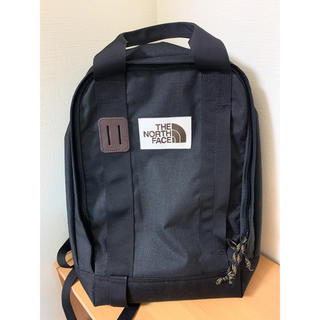 THE NORTH FACE - the north face トートパック TNFブラックレザー 新品未使用