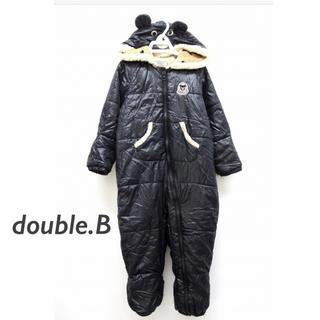 DOUBLE.B - ミキハウス ダブルビー ジャンプスーツ ロンパース 80-90