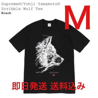 Supreme - Supreme Yohji Yamamoto Wolf Tee Black 黒