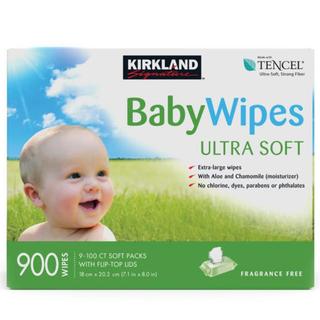 コストコ(コストコ)のコストコ おしりふき 900枚 Baby Wipes カークランドシグネチャー(ベビーおしりふき)