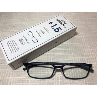 JINS - JINS リーディンググラス ブルーライトカット 老眼鏡+1.5