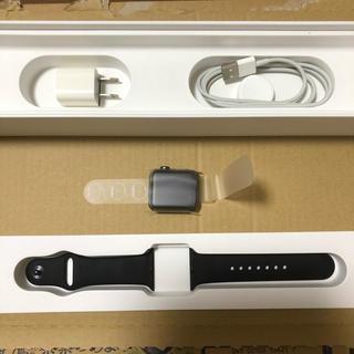 Apple - Apple Watch series3 (GPSモデル/38mm)