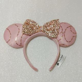 Disney - 即購入OKフロリダディズニープリンセスゴールドスパンコールカチューシャピンク