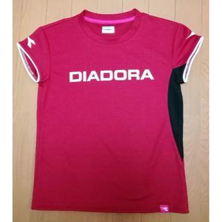 ディアドラ(DIADORA)の送料無料 ディアドラ*テニスTシャツ*M*美品(ウェア)