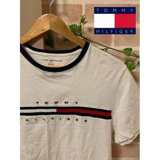 トミーヒルフィガー(TOMMY HILFIGER)の【大人気!】TOMMY HILFIGER 3色フロントロゴ tee 半袖(Tシャツ/カットソー(半袖/袖なし))