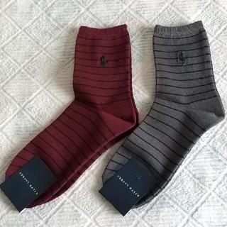 ラルフローレン(Ralph Lauren)の【新品】ラルフローレン レディース靴下 2足セット(ソックス)