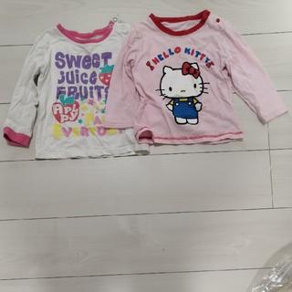 サンリオ(サンリオ)の2枚で300円長袖シャツ(Tシャツ/カットソー)