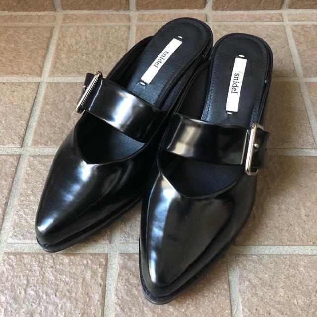 snidel(スナイデル)のsnidel プラットフォームシューズ レディースの靴/シューズ(ローファー/革靴)の商品写真