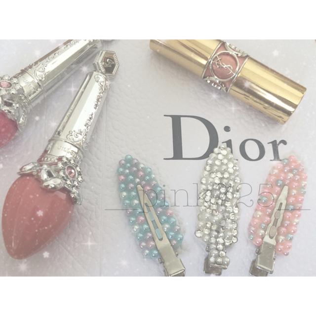 Dior(ディオール)のSALE中!跡がつかない前髪クリップ レディースのヘアアクセサリー(ヘアピン)の商品写真
