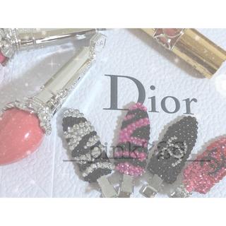 ディオール(Dior)のSALE中!跡がつかない前髪クリップ(ヘアピン)