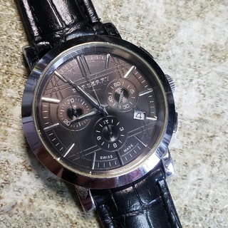 BURBERRY - BURBERRY時計クロノグラフ‼️ BU1360です。