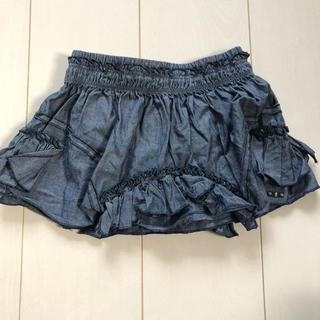 ディーゼル(DIESEL)の美品☆DIESEL ベビー デニム スカート 24m(スカート)