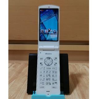 エヌティティドコモ(NTTdocomo)の携帯電話 docom N-01F 白(携帯電話本体)