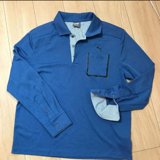PUMA - プーマ  メンズ 長袖ポロシャツ