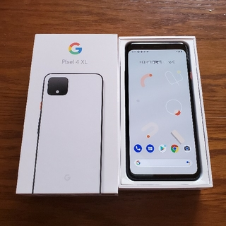 ANDROID - Pixel 4 XL 64GB クリアリーホワイト