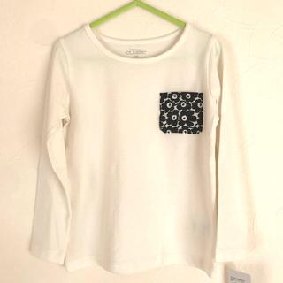 マリメッコ(marimekko)のハンドメイドポケット ロンT 110㎝(Tシャツ/カットソー)