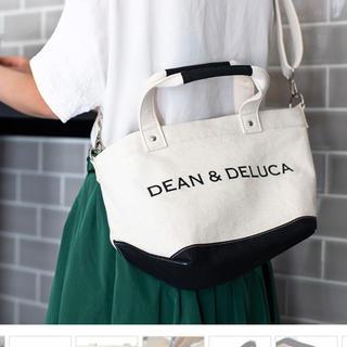 DEAN & DELUCA - 9/18発売 ディーンアンドデルーカ ショルダー付きキャンバストートバック S
