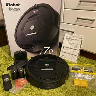 iRobot - iRobot アイロボット ルンバ 770 ロボット掃除機(付属品・箱付)