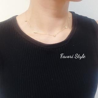 フォクシー(FOXEY)のAAAジルコニア シルバー925 18kメッキ  ネックレス(ネックレス)