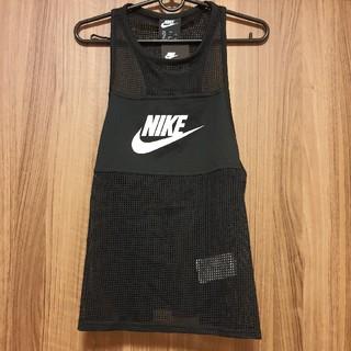 ナイキ(NIKE)のNIKE ナイキ タンクトップ メッシュ シャツ Tシャツ ウェア レディース(タンクトップ)