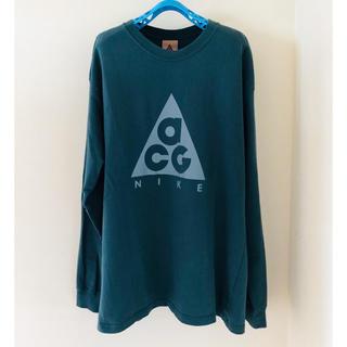 ナイキ(NIKE)のナイキ NIKE ACG acg ロゴ Tシャツ ロンT S(Tシャツ/カットソー(七分/長袖))