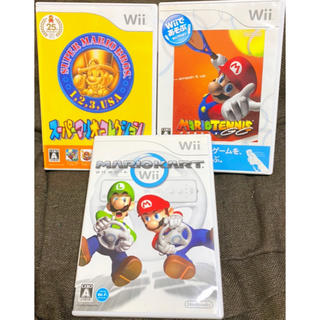 Wii - 【美品】Wiiソフト マリオセット