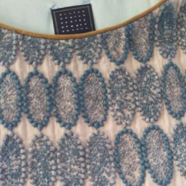 mina perhonen(ミナペルホネン)の最終ミナペルホネンtarteドレス新品タグ付き レディースのワンピース(ひざ丈ワンピース)の商品写真