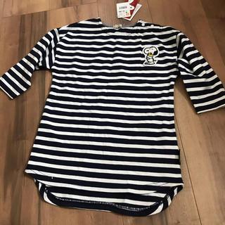 スヌーピー(SNOOPY)の新品♡90サイズ★スヌーピー★Tシャツ★ワンピース(Tシャツ/カットソー)