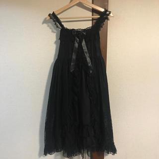 アンジェリックプリティー(Angelic Pretty)のPetit Gardenジャンパースカート(ひざ丈ワンピース)