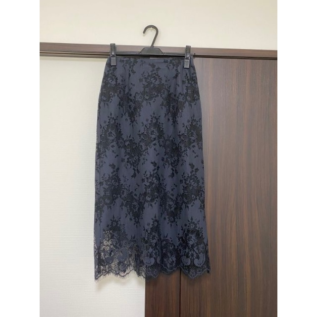 Spick and Span(スピックアンドスパン)のラッセルレーススカート Spick and Span 2020AW 完売品 レディースのスカート(ロングスカート)の商品写真