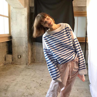 COMOLI - OUTIL TRICOT AAST Size2 バスクシャツ